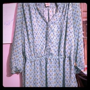 Loose fitting dress mean by Massimo sz extra large